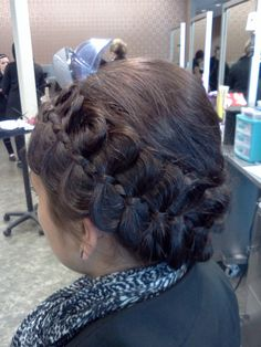 cool braided texture