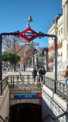 Estação Metro Atocha/ Madri Es
