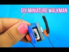 DIY Miniature Walkman from Guardians of the Galaxy - YouTube