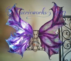 These wings are gorgeous!    Fairy Wings Large Faery Wings Gypsy Fae LARP by Faerieworks, $180.00