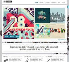 Portfolio wordpress theme collection