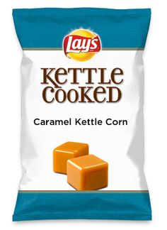 Wouldn't Caramel Kettle Corn be yummy as a chip? Lay's Do Us A Flavor is back, and the search is on for the yummiest flavor idea. Create a flavor, choose a chip and you could win $1 million! https://www.dousaflavor.com See Rules.
