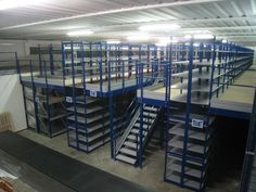 mezzanine and gangways