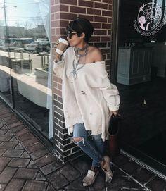 Estilo jeans moda denim de rua essa é a aposta dessa estação  #fasionismo #streetstyle #moda
