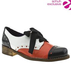 Red or Dead Alexa flats (would look awesome with wide leg 30's style black pants)
