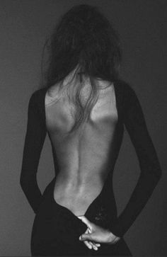 I firmly believe a woman's #back is one of her #sexiest #features.