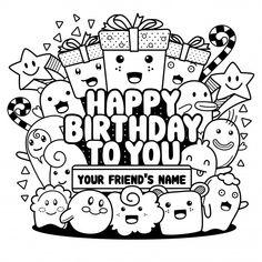 Doodle art name Doodle Happy Birthday Greeting Cards Happy Birthday Doodles, Happy Birthday Drawings, Happy Birthday Art, Birthday Card Drawing, Happy Birthday Greeting Card, Greeting Cards, Birthday Cards, Doodle Art Name, Cute Doodle Art