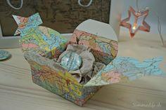 {Gastbeitrag} Last Minute Weihnachtsgeschenk für Weltenbummler. Diy Paper, Decorative Boxes, Blog, Pictures, Home Decor, World, Photos, Decoration Home, Room Decor
