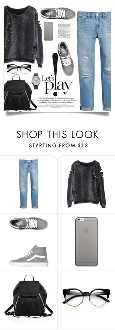 """""""Favorite look!"""" by lamiya-c ❤ liked on Polyvore featuring White House Black Market, Vans, Native Union, Rebecca Minkoff, ZeroUV and NLY Accessories"""