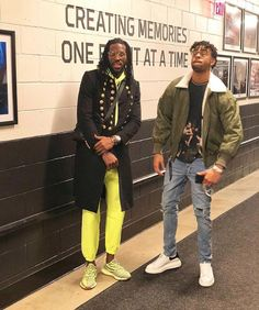 7bef1f05ffa D Angelo Russell wearing our aviator bomber ii    Designer Jackets For Men