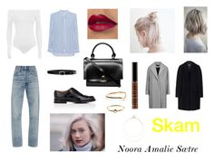 """""""Noora skam"""" by bryndis-olafsdottir on Polyvore featuring WearAll, Citizens of Humanity, iHeart, Church's, Puck Wanderlust, Lord & Berry, Lauren Ralph Lauren, rag & bone, MSGM and Sole Society"""