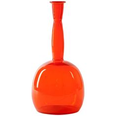 Orange Glass Vase by A.D. Copier, Dutch Art Deco | From a unique collection of antique and modern glass at http://www.1stdibs.com/dining-entertaining/glass/