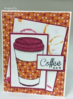 The last day of the Summer Coffee Blog Hop - Two Paper Divas