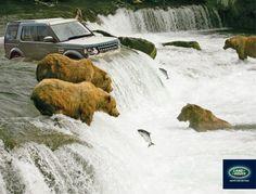 Land Rover: Salmon fishing