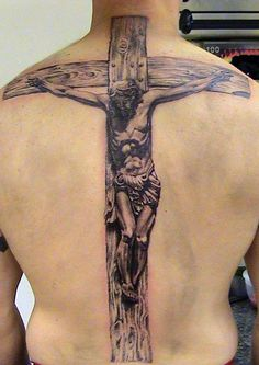 Jesus on Cross....I couldn't do that but I still like it!
