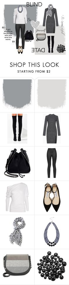 """""""Just Be You!!"""" by winda-amalia-nusawati ❤ liked on Polyvore featuring Jeffrey Campbell, BCBGMAXAZRIA, Valentino, Armani Jeans, Tom Ford, Jimmy Choo, L.L.Bean, M&Co and Calvin Klein"""