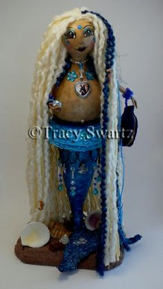 (SOLD) Custom Ordered Mermaid Doll