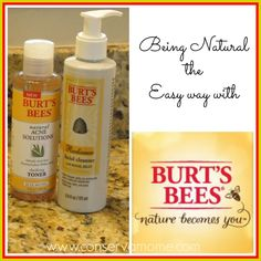 Being Natural the Easy way! @burtsbees