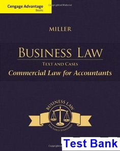 Campbell biology 10th edition pdf 10th pinterest pdf test bank for cengage advantage books business law text and cases commercial law for accountants edition by miller 2018 test bank and solutions manual fandeluxe Image collections