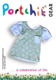 Girls shirt by #portchiegear - www.portchiegear.co.za