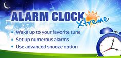 Free Amazon Android App of the day for 9/15/2014 only! Normally $1.99 but for today it is FREE!! Alarm Clock Xtreme Product Features Ad-free version Wake up gently with this feature-packed alarm clock Create unlimited and customizable alarms Snooze away with a large snooze button Set your alarm to have your music bring you back to consciousness Do math and reward yourself with a little snooze