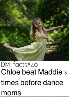 Dance moms fact by dmomsfanpage