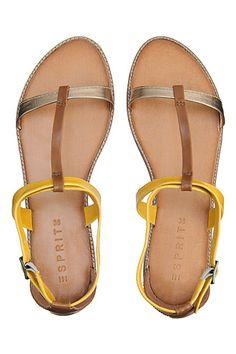 sandales à lanières multicolores