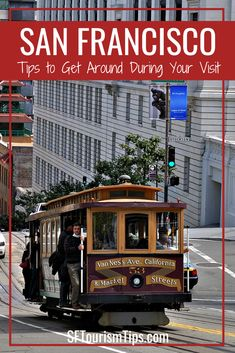 Cable Cars in San Francisco: History, Routes & Riding Tips San Francisco Transit, San Francisco Cable Car, San Francisco Travel, California With Kids, Visit California, California Travel, Southern California, San Francisco Attractions, San Francisco Neighborhoods