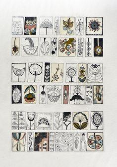 Etching - Herbarium 2. $200.00, via Etsy.