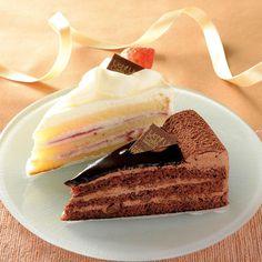 2種類の味が楽しめる「パーティーケーキ 苺&チョコ 2個入」です(^^)プレゼントやパーティーにもぴったりですね♪ http://lawson.eng.mg/a8cd2