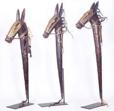 Bambara horse puppet