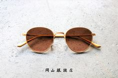 OLIVER PEOPLES THE ROW BROWNSTONE 2 岡山眼鏡店 Oliver Peoples, The Row, Round Sunglasses, Round Frame Sunglasses