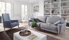 Trucos para limpiar sofás tapizados en tela y que queden como nuevos