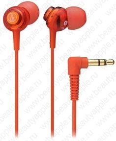 Купить Audio-Technica ATH-CKL202 RD (красный), доставка по Москве и всей РФ.