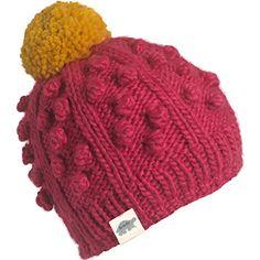 Turtle Fur Zola Girl s Chunky Hand Knit Fleece Lined Pom Winter Hat Teen  Girl Fashion 2cb58d384332