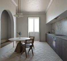 New Furniture, Furniture Design, Virtual Travel, Interior Architecture, Interior Design, Paris Apartments, Parisian Apartment, Küchen Design, Furniture Collection