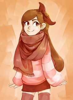 "annikartika: "" Fall Mabel! If you wear sweaters in summer, you have to step up your game in fall. """