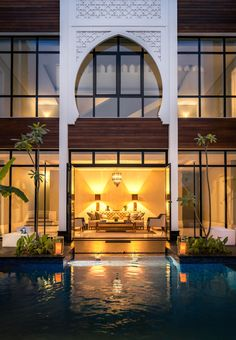 Morrocan Architecture, Islamic Architecture, Architecture Design, Architecture Sketches, Morrocan House, Modern Villa Design, Moroccan Design, Dream House Exterior, Facade House