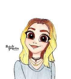 I still remember the first drawing for this beautiful person, @ghannelius! ✨ She is always in my sketches, she is always in the music I listen to, is always in my heart, she is always to make me laugh or thrill when I see in the series or movies...