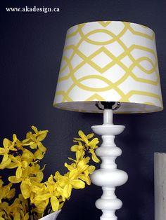 threshold target geometric lamp shade yellow