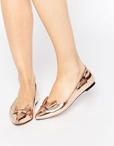 ASOS LITTLE MUNCHKIN Ballet Flats// THESE!!! OMG! YES! PLEASE!