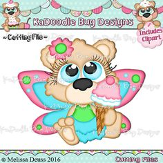 Cutie KaToodles - Ice Cream Fairy Bear - Click Image to Close