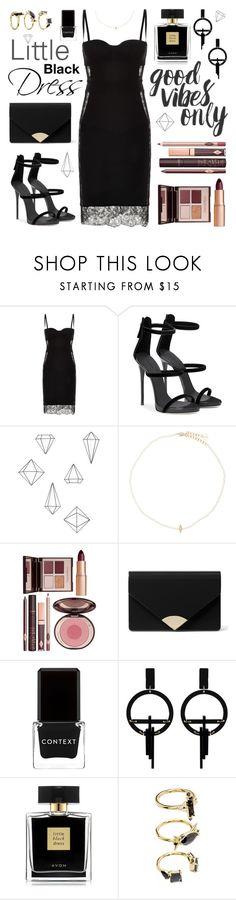 """little black dress"" by jk802 ❤ liked on Polyvore featuring La Perla, Umbra, Anissa Kermiche, Charlotte Tilbury, MICHAEL Michael Kors, Context, Toolally, Avon and Noir Jewelry"