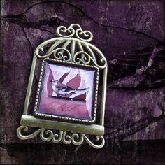 """Brož Klec 'Drozdec'"" (""'Mockingbird' Cage Pin"") | approx. $6"