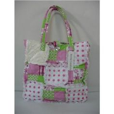 Quilted Patchwork Purse or Bag, Rag Bag, 100% Cotton $19.99