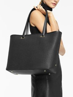 """The Seville Tote - 15"""" Laptop Tote With Shell+ Design™ - Designed by Lo & Sons #loandsons"""