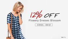 cupshe flowery dresses blowsem coupon codes - https://goo.gl/1BlQ5W