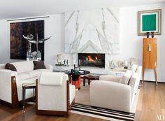 2018 Best Interior Designers by Architectural Digest Contemporary Living, Contemporary Interior, Modern Interior Design, Modern Interiors, Modern Living, Architectural Digest, Design Moderne, Deco Design, Design Design
