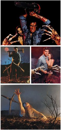 My movie boyfriend, Bruce Campbell.  Evil Dead