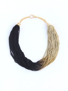 "A unique ""Light Delight Fringe Necklace"" that is simply beautiful! Click Here! http://www.arturbane.com/collections/necklaces/products/light-delight-fringe-necklace #fashion #jewelry #necklace $55"